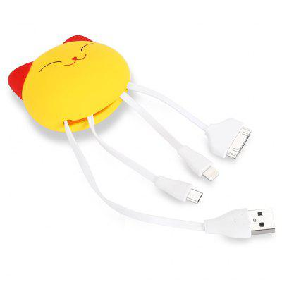 3-in-1 USB Hub Data Transfer Cable