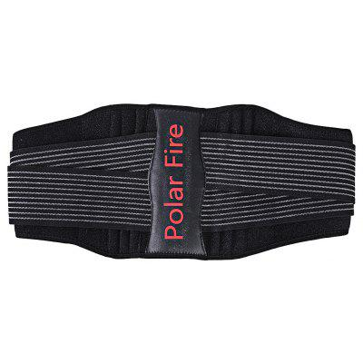 PolarFire Unisex Adjustable Back Support Belt Waist Trimmer