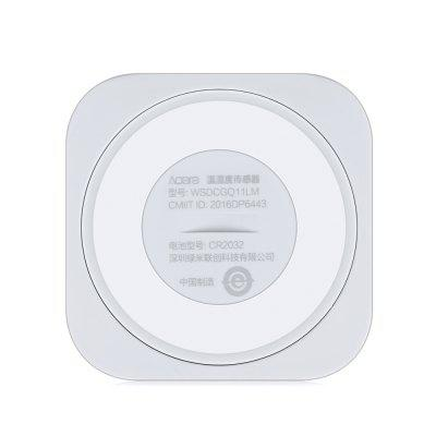 Aqara Temperature Humidity SensorAccess Control<br>Aqara Temperature Humidity Sensor<br><br>Brand: Aqara<br>Color: Milk White<br>Material: Plastic<br>Package Contents: 1 x Aqara Temperature Humidity Sensor, 1 x Chinese User Manual<br>Package size (L x W x H): 7.70 x 11.00 x 2.70 cm / 3.03 x 4.33 x 1.06 inches<br>Package weight: 0.0570 kg<br>Product size (L x W x H): 3.60 x 3.60 x 0.90 cm / 1.42 x 1.42 x 0.35 inches<br>Product weight: 0.0110 kg
