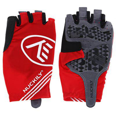 Buy Pair of NUCKILY PC04 Half-finger Cycling Gloves with Gel Pad, RED, L, Outdoors & Sports, Other Sports Gadgets for $19.50 in GearBest store