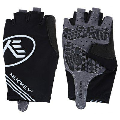 Buy Pair of NUCKILY PC04 Half-finger Cycling Gloves with Gel Pad, BLACK, M, Outdoors & Sports, Other Sports Gadgets for $19.50 in GearBest store