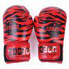 Zooboo Paired Boxing Fighting Sandbag Glove - RED