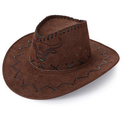 Buy ESPRESSO Unisex Breathable Hole Cowboy Hat with Adjustable Drawcord for $6.17 in GearBest store