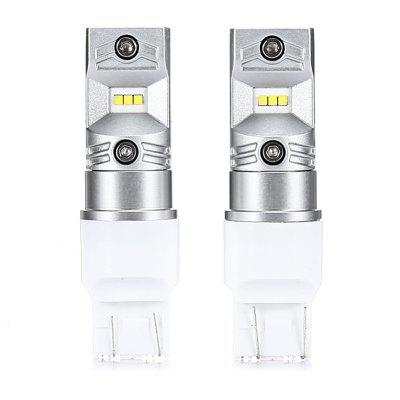 T20 7443 2PCS 480lm CSP 6 - SMD Car Brake Light Auto Lamp
