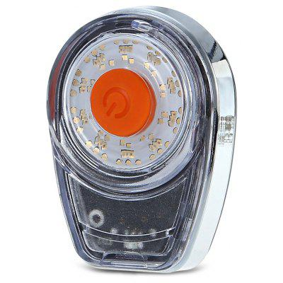 CTSmart Water-resistant 6-color Bicycle Tail Light Safety Lamp