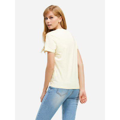 Crew Neck White T Shirt for WomenTees<br>Crew Neck White T Shirt for Women<br>