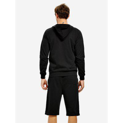 ZANSTYLE Zip Black Hoodie MensMens Hoodies &amp; Sweatshirts<br>ZANSTYLE Zip Black Hoodie Mens<br><br>Package Content: 1 x ZANSTYLE Men Hoodie<br>Package size: 40.00 x 30.00 x 2.00 cm / 15.75 x 11.81 x 0.79 inches<br>Package weight: 0.6200 kg<br>Product weight: 0.5800 kg