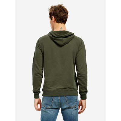 ZANSTYLE Blackish Green Hoodie for MenMens Hoodies &amp; Sweatshirts<br>ZANSTYLE Blackish Green Hoodie for Men<br><br>Package Content: 1 x ZANSTYLE Men Hoodie<br>Package size: 40.00 x 30.00 x 2.00 cm / 15.75 x 11.81 x 0.79 inches<br>Package weight: 0.5500 kg<br>Product weight: 0.4500 kg<br>Season: Autumn, Winter