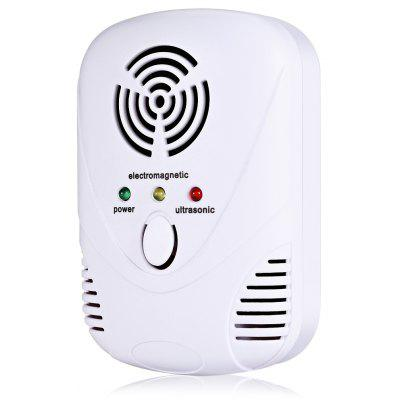 Buy WHITE DC 9001B Ultrasonic Plug-in Pest Mosquito Repellent for $9.40 in GearBest store