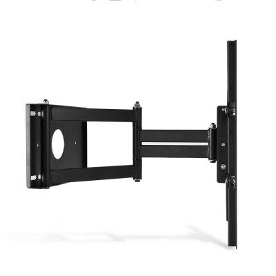 YC - TV170 35kg Wall Mount Bracket for 17 - 55 inch TVTV Wall Mount<br>YC - TV170 35kg Wall Mount Bracket for 17 - 55 inch TV<br><br>Color: Black<br>Compatible TV Size: 17 - 55 inch<br>Material: Stainless Steel<br>Max Load Bearing: 35kg<br>Model: YC - TV170<br>Package Contents: 1 x 35kg Wall Mount Bracket, 1 x Screw Pack, 1 x English User Manual<br>Package size (L x W x H): 47.00 x 24.00 x 10.00 cm / 18.5 x 9.45 x 3.94 inches<br>Package weight: 4.4200 kg<br>Product size (L x W x H): 45.50 x 22.50 x 8.00 cm / 17.91 x 8.86 x 3.15 inches<br>Product weight: 4.3750 kg