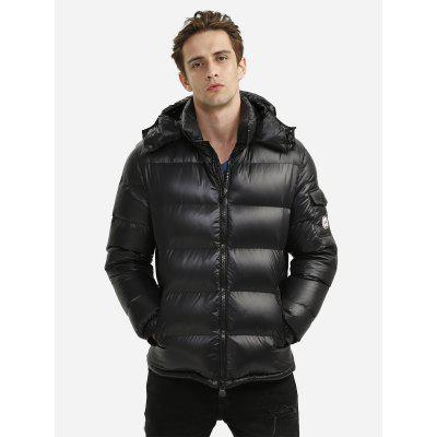 Men Black Down Jacket