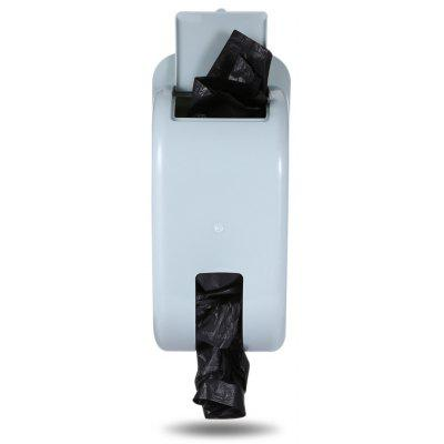 Wall-mounted Multifunctional Garbage Bag Storage Box Holder Container