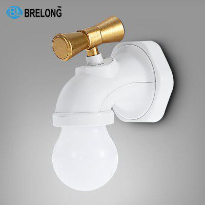 Buy WHITE BRELONG Voice Control Faucet Shape Night Lamp for $7.78 in GearBest store