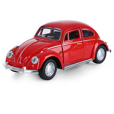Beetle Design 1 32 Car Vehicle Pullback Collection Model 9 76