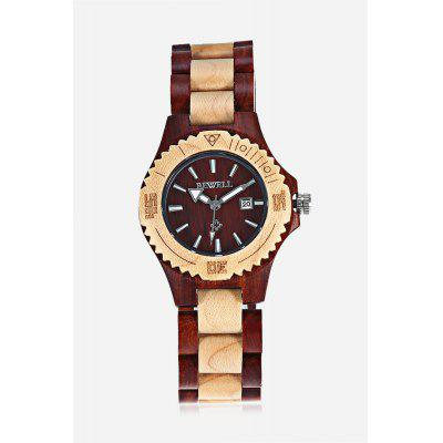 BEWELL ZS - W020A Women Wooden Quartz Watch Nail Scale Calendar WristwatchWomens Watches<br>BEWELL ZS - W020A Women Wooden Quartz Watch Nail Scale Calendar Wristwatch<br><br>Available Color: Black,Dark Red,Maple,Maple with Red sandalwood<br>Band material: Wood<br>Band size: 21.00 x 1.80 cm / 8.27 x 0.70 inches<br>Brand: Bewell<br>Case material: Wood<br>Clasp type: Folding clasp with safety<br>Dial size: 3.60 x 3.60 x 0.8 cm / 1.42 x 1.42 x 0.3 inches<br>Display type: Analog<br>Movement type: Quartz watch<br>Package Contents: 1 x BEWELL ZS - W020A Wooden Quartz Watch<br>Package size (L x W x H): 7.00 x 7.00 x 7.00 cm / 2.76 x 2.76 x 2.76 inches<br>Package weight: 0.0800 kg<br>Product size (L x W x H): 21.00 x 3.60 x 0.80 cm / 8.27 x 1.42 x 0.31 inches<br>Product weight: 0.0480 kg<br>Shape of the dial: Round<br>Special features: Date<br>Watch style: Bracelet Style<br>Watches categories: Female table<br>Water resistance: Life water resistant