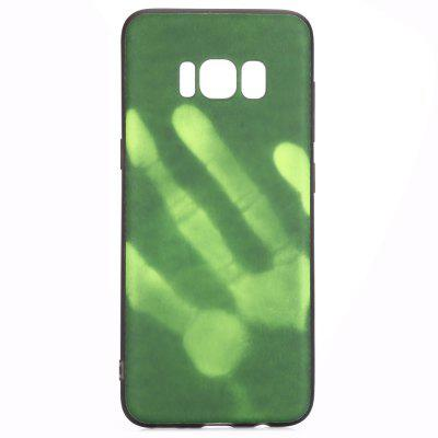 Luanke Thermal Induction Case Phone Soft Protector para Samsung Galaxy S8