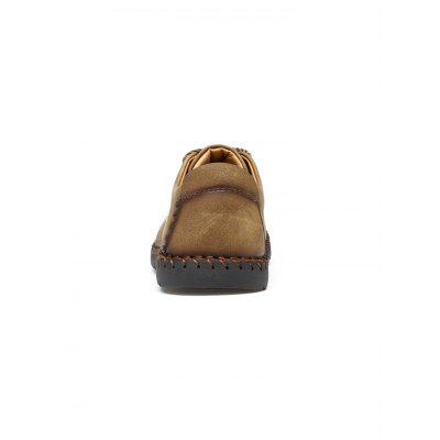 Microfiber Leather Casual Men ShoesCasual Shoes<br>Microfiber Leather Casual Men Shoes<br><br>Contents: 1 x Pair of Shoes<br>Materials: Leather, Mesh, Microfiber, Rubber<br>Occasion: Daily<br>Package Size ( L x W x H ): 33.00 x 22.00 x 11.00 cm / 12.99 x 8.66 x 4.33 inches<br>Package weight: 0.8900 kg<br>Product weight: 0.5500 kg<br>Seasons: Spring<br>Style: Comfortable<br>Type: Casual Shoes<br>Upper Material: Leather