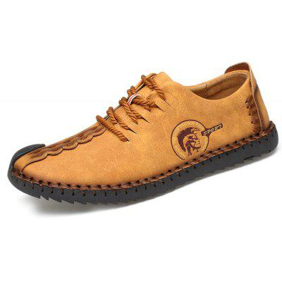 Microfiber Leather Casual Men Shoes coupons