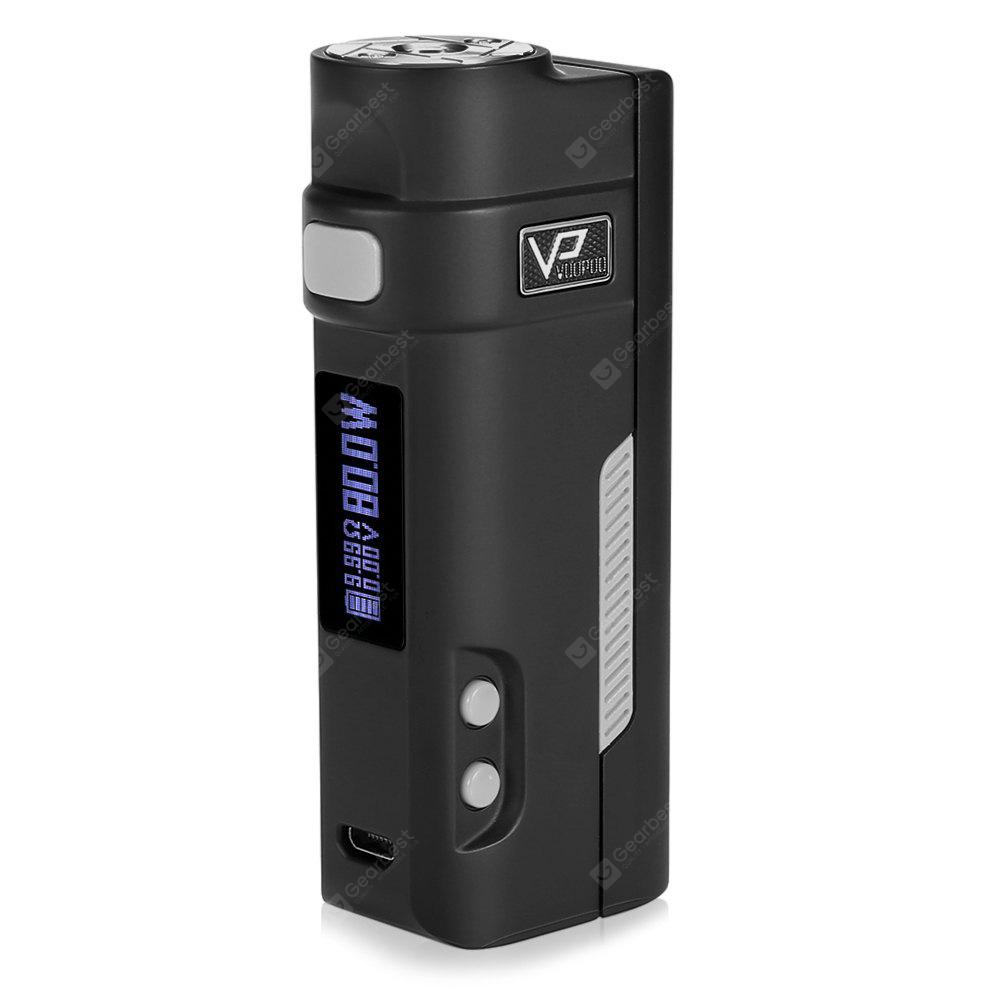 Original Voopoo NEWBIE E007 80W Box Mod with Multiple Protections / 200 - 600F / 100 - 315C for E Cigarette