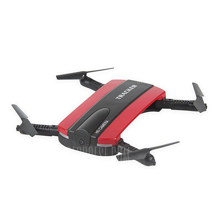RED JXD 523 Mini Foldable RC Pocket Drone BNF