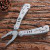 Super Quality Ganzo G301 Multi Tool Pliers with Screwdriver Kit for Outdoor Camping Hiking Household etc. - SILVER