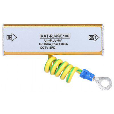 Kat - RJ45 / E100 Ethernet Network Device Surge Protector Lightning Arrester