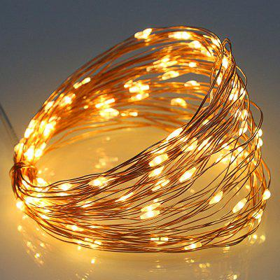 5V USB 10m Copper Wire 100 LEDs Decoration String Lights