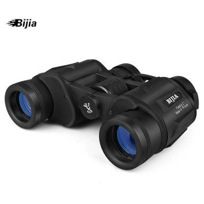 BIJIA Antiscivolo 12 x 45mm Binoculare Portabile HD Telescopio