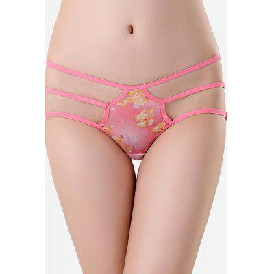 Sexy Floral Pattern Hip-Lifted Underwear