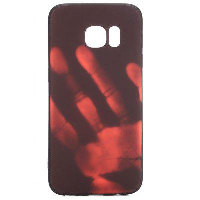 Luanke Thermal Induction Case Phone Soft Protector para Samsung Galaxy S7