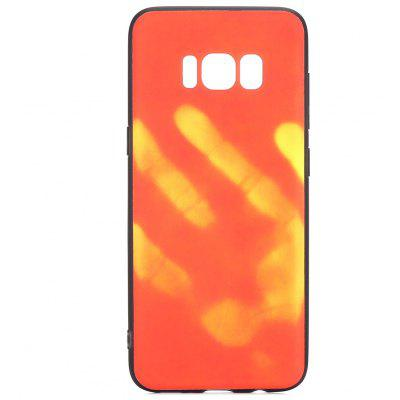 Luanke Thermal Induction Case Phone Soft Protector para Samsung Galaxy S8 Plus