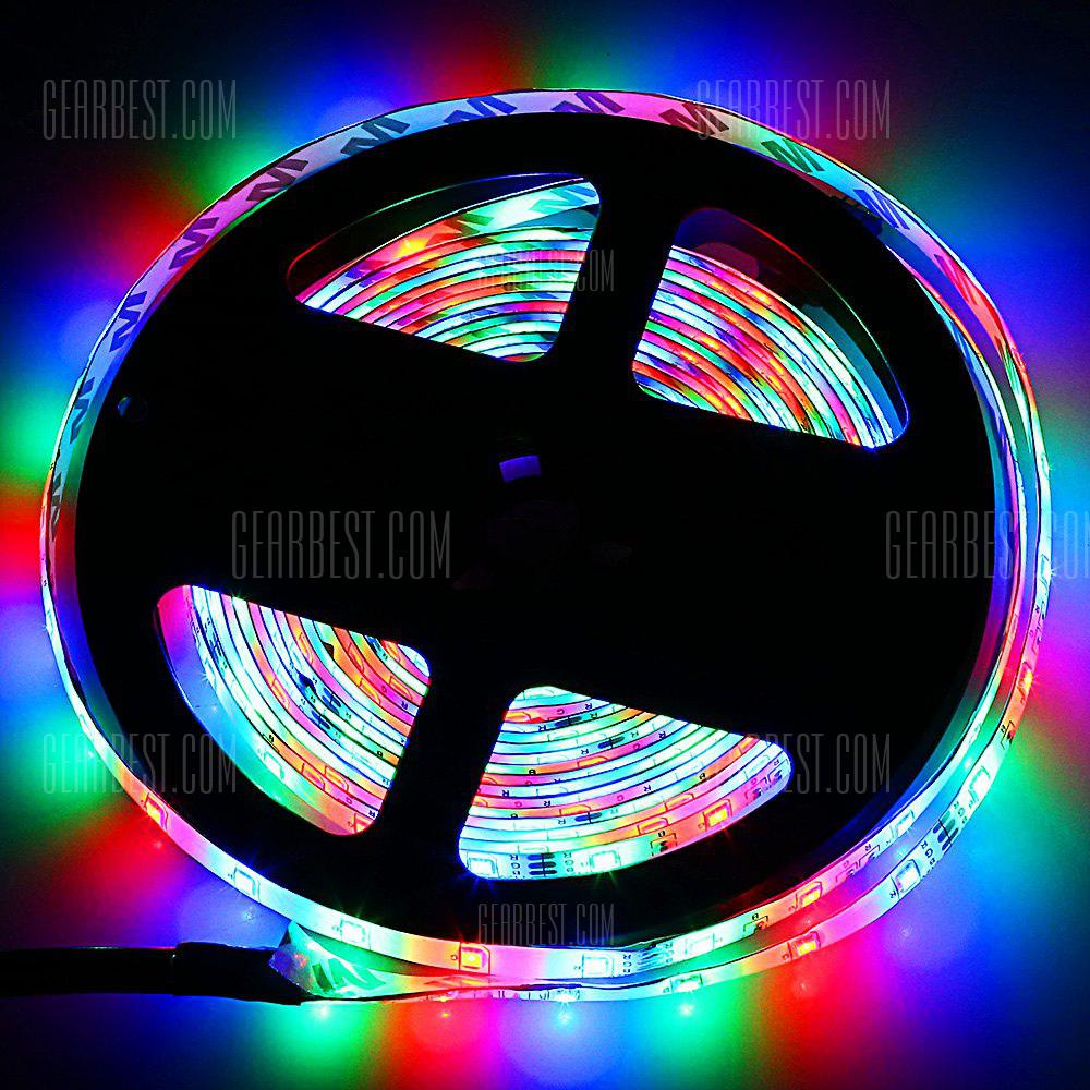 ZDM 5M LED Strip Light with Remote Control - RGB COLOR