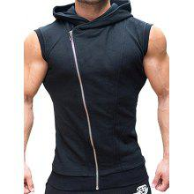 TAONIUCHAOPIN Hooded Sleeveless Sports Vest
