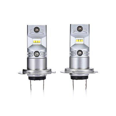2PCS CSP - 6SMD H7 6 CSP1919 LED Fog Light Car Lamp