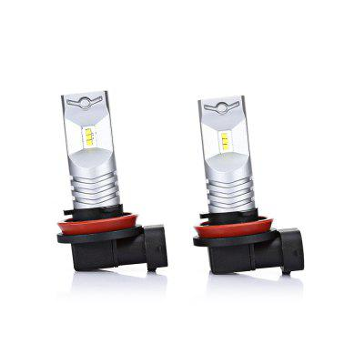 2PCS CSP - 6SMD H9 6 CSP1919 LED Fog Light Car Lamp