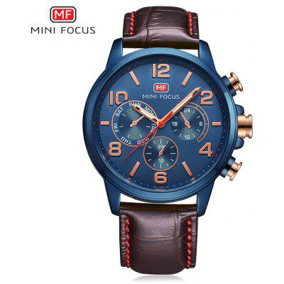 Buy MINI FOCUS MF0001G Men Quartz Watch, BLUE, Watches & Jewelry, Men's Watches for $15.99 in GearBest store