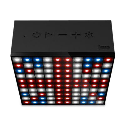 Divoom Aurabox Bluetooth 4.0 Smart LED SpeakerSpeakers<br>Divoom Aurabox Bluetooth 4.0 Smart LED Speaker<br><br>Audio Source: Bluetooth Enabled Devices,Electronic Products with 3.5mm Plug,Electronic Products with USB port<br>Battery Capacity: 2500mAh<br>Bluetooth Version: V4.0<br>Brands: Divoom<br>Charging Time: 3.5 hours<br>Compatible with: iPod, Tablet PC, PSP, iPhone, MP5, MP4, PC, Laptop, Mobile phone, MP3<br>Connection: Wireless<br>Design: Cool<br>Interface: 3.5mm Audio, Micro USB<br>Model: Aurabox<br>Package Contents: 1 x Divoom Aurabox Bluetooth 4.0 Speaker, 1 x USB Cable, 1 x English Manual<br>Package size (L x W x H): 12.80 x 6.80 x 16.90 cm / 5.04 x 2.68 x 6.65 inches<br>Package weight: 0.7200 kg<br>Power Output: 5W<br>Product size (L x W x H): 1.10 x 5.00 x 11.00 cm / 0.43 x 1.97 x 4.33 inches<br>Product weight: 0.3770 kg<br>Supports: Bluetooth, LED Shinning, Volume Control<br>Working Time: 4 hours