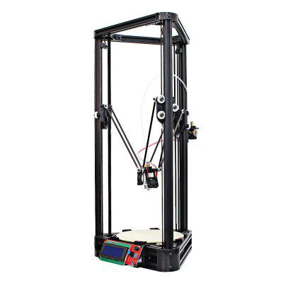 Anycubic Kossel Upgraded Pulley Version Unfinished 3D Printer original anycubic 3d pinter kit kossel pulley heat power big size 3d printing metal printer fast shipping from moscow