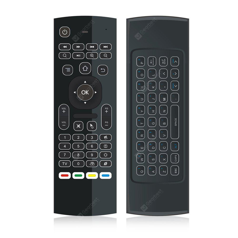 Mx3 L 3 In 1 24ghz Wireless Air Mouse Qwerty Keyboard 916 Control Leds On Off With Ir Remote And Arduino P Marian Infrared Free Shipping