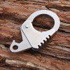 Sanrenmu SK036E Multi-use Keychain / Bottle Opener / Wrench - SILVER