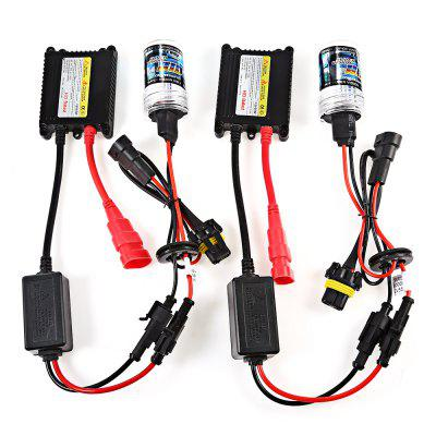 9005 55W HID Xenon LED Headlight Conversion KitCar Headlights<br>9005 55W HID Xenon LED Headlight Conversion Kit<br><br>Adaptable automobile mode: Universal<br>Apply lamp position: External Lights<br>Color temperatures: 10000K<br>Connector: 9005<br>Lumens: 2100 - 2500LM<br>Package Contents: 2 x Xenon Lamp, 2 x Ballast, 6 x Screw, 6 x Nut, 1 x English User Manual<br>Package size (L x W x H): 22.00 x 18.00 x 7.00 cm / 8.66 x 7.09 x 2.76 inches<br>Package weight: 0.3400 kg<br>Product size (L x W x H): 11.00 x 7.00 x 3.50 cm / 4.33 x 2.76 x 1.38 inches<br>Product weight: 0.2600 kg<br>Type of lamp-house: Xenon
