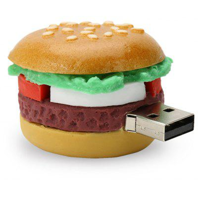Caraele Hamburger Shape USB 2.0 U Disk Memory Storage Device