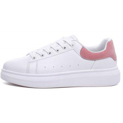 All-match Lace Up Ladies Skateboarding Shoes