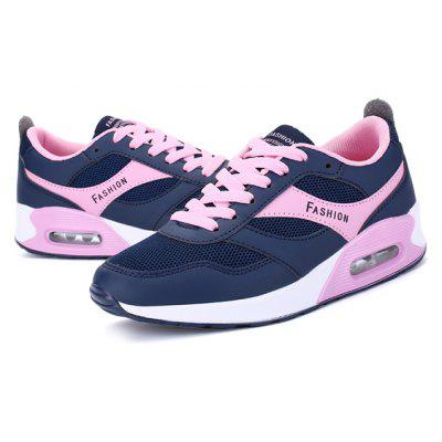Buy BLUE AND PINK 37 Outdoor Breathable Mesh Casual Walking Women Shoes for $36.01 in GearBest store