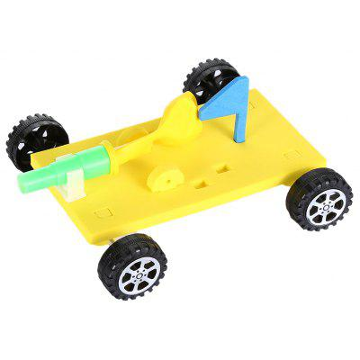 Novelty Child Balloon Car Air Power Assemble Model Toy for Child Kid