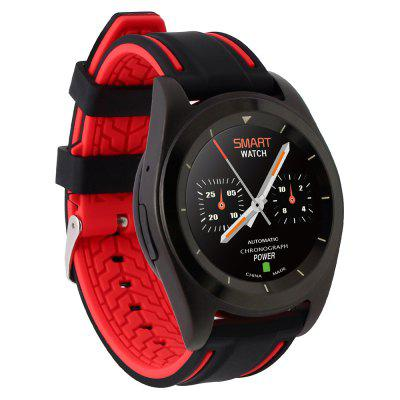 NO.1 G6 Bluetooth 4.0 SmartwatchSmart Watches<br>NO.1 G6 Bluetooth 4.0 Smartwatch<br><br>Alert type: Vibration<br>Available Color: Black,Silver<br>Band material: TPU<br>Band size: 22 x 2.2cm<br>Battery  Capacity: 380mAh<br>Bluetooth calling: Dialing,Phone call reminder<br>Bluetooth Version: Bluetooth 4.0<br>Brand: NO.1<br>Built-in chip type: MTK2502<br>Case material: Stainless Steel<br>Compatible OS: IOS, Android<br>Dial size: 4.5 x 4.5 x 1 cm / 1.77 x 1.77 x 0.39 inches<br>Health tracker: Heart rate monitor,Pedometer,Sedentary reminder,Sleep monitor<br>Language: English,French,German,Italian,Portuguese,Portuguese (Brazil),Russian,Spanish,Turkish<br>Messaging: Message reminder<br>Notification type: Facebook, Twitter<br>Operating mode: Touch Screen, Press button<br>Other Function: Alarm<br>Package Contents: 1 x NO.1 G6 Sports Smart Watch, 1 x Charging Cable, 1 x Chinese and English User Manual<br>Package size (L x W x H): 10.00 x 8.00 x 6.80 cm / 3.94 x 3.15 x 2.68 inches<br>Package weight: 0.1750 kg<br>People: Male table<br>Product size (L x W x H): 25.00 x 4.50 x 1.00 cm / 9.84 x 1.77 x 0.39 inches<br>Product weight: 0.0550 kg<br>Remote control function: Remote music, Remote Camera<br>ROM: 32MB<br>Screen resolution: 240 x 240<br>Screen size: 1.2 inch<br>Shape of the dial: Round<br>Type of battery: Polymer Lithium Battery