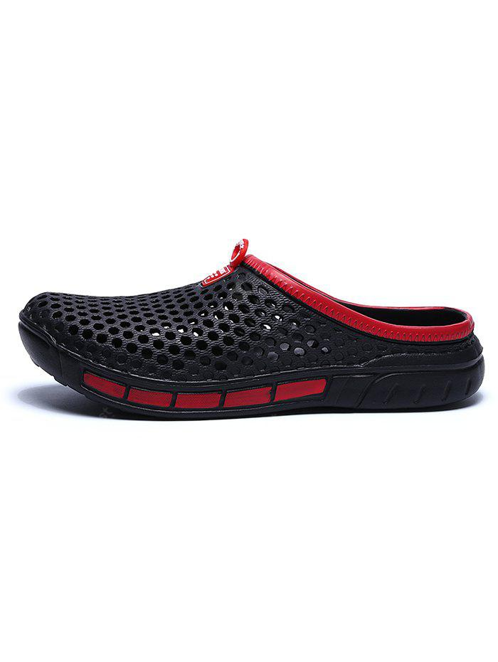 Men Hollow-out Beach Slippers sale best sale shopping online sale online cheap price buy discount many kinds of for sale Ms5oiVZz