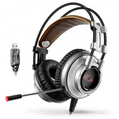XIBERIA K9 Surround Sound Gaming Headset with Mic