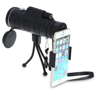 Gearbest 40 x 60mm Monocular Telescope with Compass / Cellphone Clip