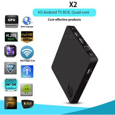 X2 Smart TV XBMC Box 4K H.265 Decoding